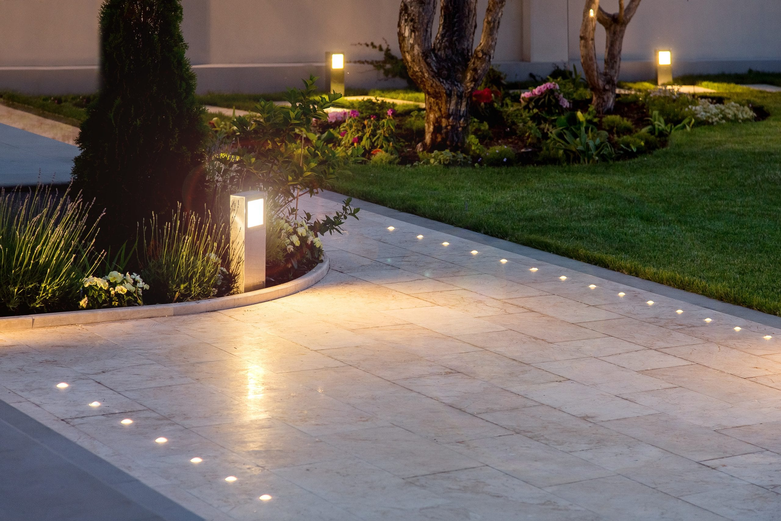 Outdoor Tile areas