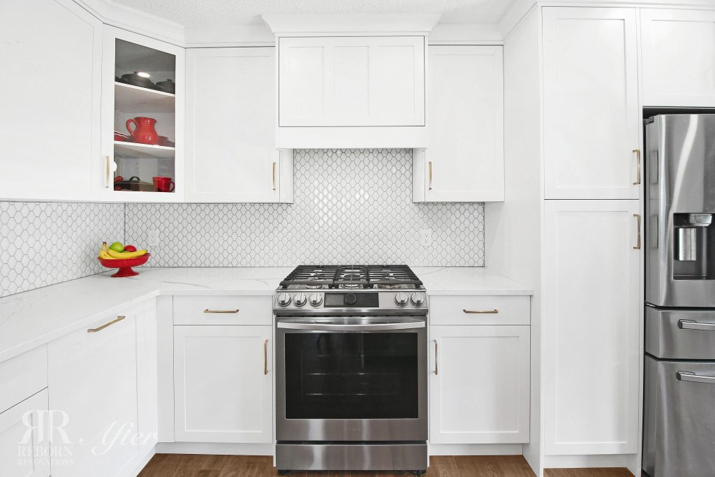 photos of home improve kitchen with modern appliances