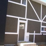 Stucco renovation with unique design Gallery 39