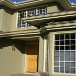 New residential roofing and stucco repair done