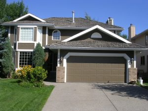 colour matched stucco siding repair